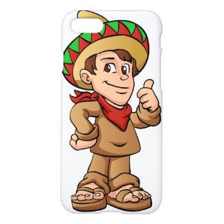 mexican kid cartoon. iPhone 7 case