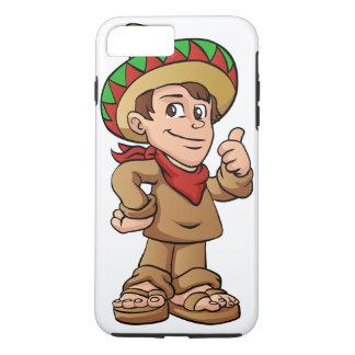 mexican kid cartoon. iPhone 7 plus case
