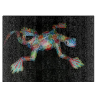 Mexican Lizard Cutting Board