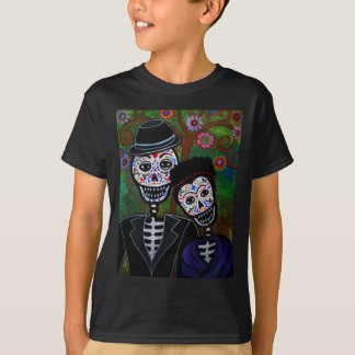 Mexican lovers Painting T-Shirt