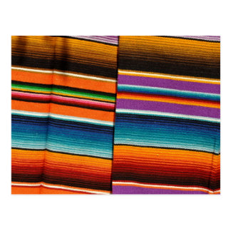 Mexican Mayan Blanket Postcard