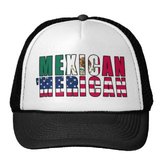 Mexican 'Merican Flags - Mexican American Cap