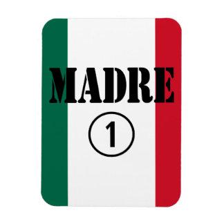 Mexican Moms : Madre Numero Uno Flexible Magnets