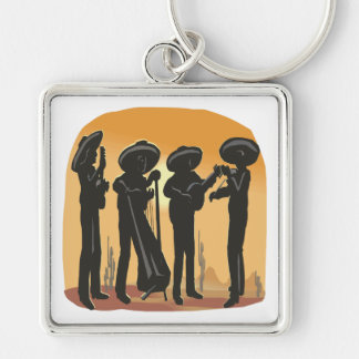 Mexican Music Key Ring