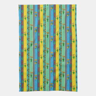 Mexican musicians kitchen towel
