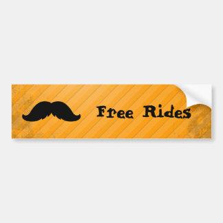 Mexican Mustache Bumper Sticker