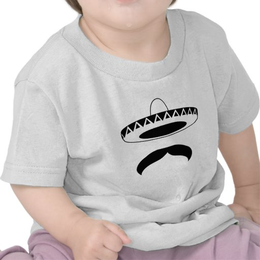 mexican mustache t-shirts
