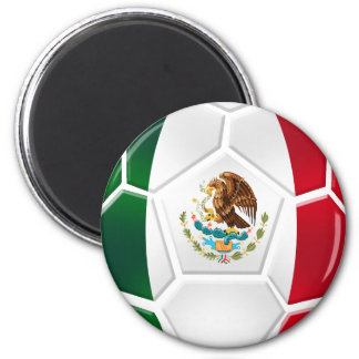 Mexican National football team fans futbol gifts 6 Cm Round Magnet