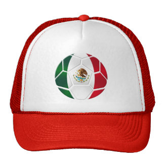 Mexican National football team fans futbol gifts Hats