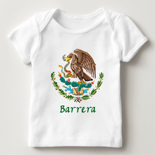 Mexican National Seal Baby T-Shirt