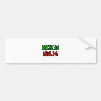 Mexican Ninja Bumper Stickers
