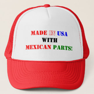 MEXICAN PARTS TRUCKER HAT