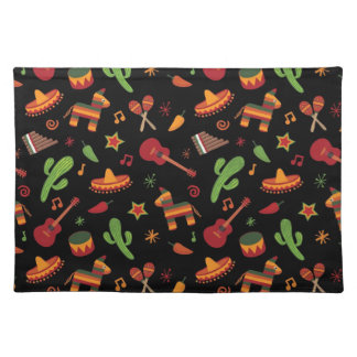 Mexican pattern placemat