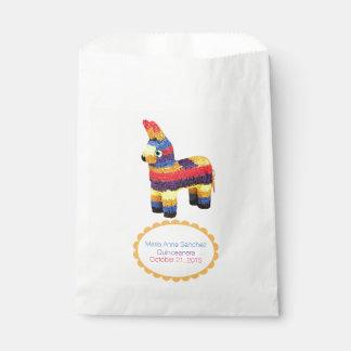 Mexican Pinata Custom Favor Bag Favour Bags