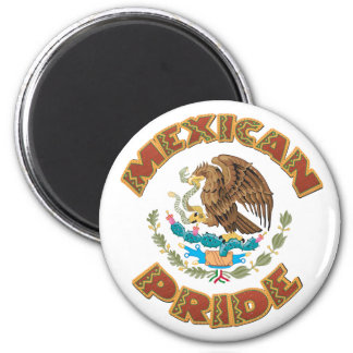 Mexican Pride 6 Cm Round Magnet