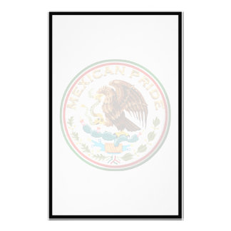 Mexican Pride (Eagle from Mexican Flag) Custom Stationery
