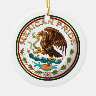 Mexican Pride (Eagle from Mexican Flag) Christmas Ornament