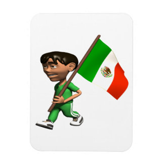Mexican Pride Rectangular Photo Magnet