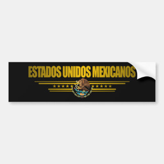 """Mexican Pride"" Gift Ideas Bumper Stickers"