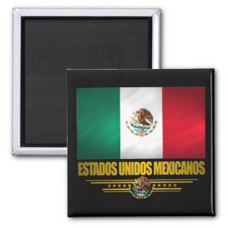 """Mexican Pride"" Gift Ideas Square Magnet"