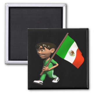 Mexican Pride Square Magnet