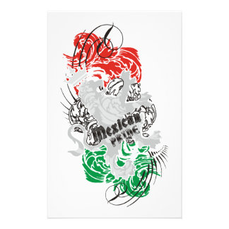 Mexican Pride Customized Stationery