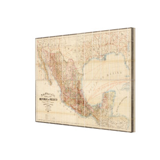 Mexican Railroad Canvas Print