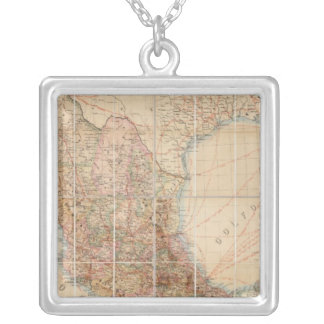 Mexican Railroad Silver Plated Necklace