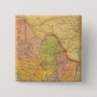 Mexican Railroads 15 Cm Square Badge