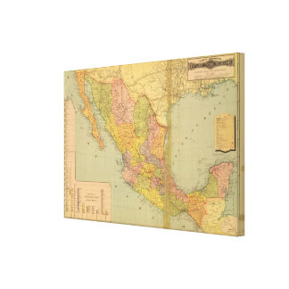 Mexican Railroads Canvas Print