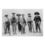 Mexican Revolution General, 1912 Print