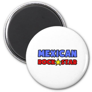 Mexican Rock Star Refrigerator Magnets