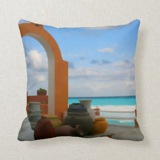 Mexican sea side pillow