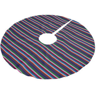 Mexican Serape Brushed Polyester Tree Skirt