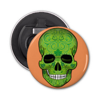 Mexican Skull Bottle Opener