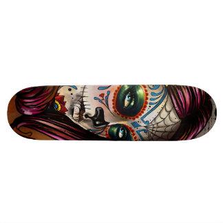 Mexican Skull Skateboard