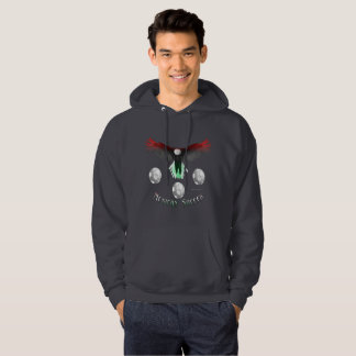 Mexican Soccer Eagle Men's Hoodie