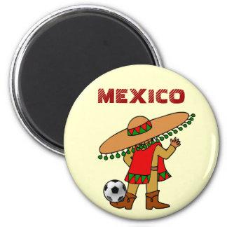 mexican soccer player futbol magnet