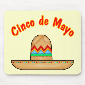 Mexican Sombrero Cinco de Mayo T-shirts and Gifts Mouse Pad
