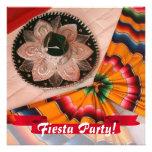 Mexican Sombrero Fiesta Party Invitation