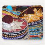 mexican sombreros mousepad