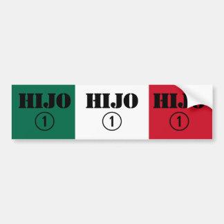 Mexican Sons : Hijo Numero Uno Bumper Stickers