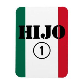 Mexican Sons Hijo Numero Uno Flexible Magnets