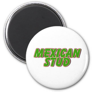 Mexican Stud 6 Cm Round Magnet