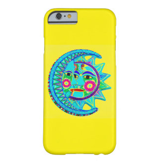 Mexican style Sun Moon Barely There iPhone 6 Case