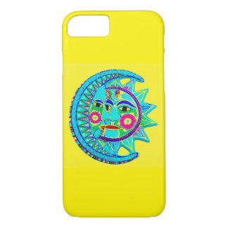Mexican style Sun Moon iPhone 7 Case