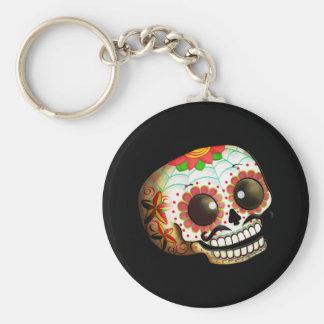 Mexican Sugar Skull Keychains