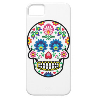 Mexican Sugar Skull Polish Folkart Case For The iPhone 5