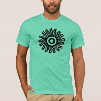 Mexican Sun Motif T-Shirt