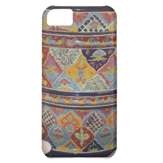 Mexican Talavera style pottery Cover For iPhone 5C